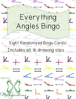 Everything Angles Bingo!