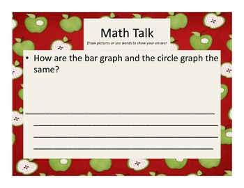 Everything Apples: Math Graphs & Journal