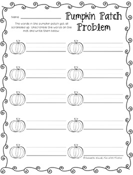 Everything Autumn: 15 Fall, Halloween, Thanksgiving, and MORE literacy centers