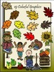 Everything Autumn Clipart (9 FREE Elements Included) Embellish Yourself Artworks