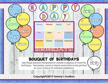 Everything Birthdays, Over 75 Printable Gifts and Treats
