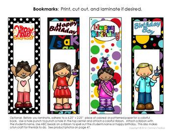 Classroom Birthday Decor