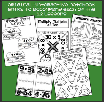 Everything But the Dice: 2-Digit x 1-Digit Multiplication - 3rd & 4th grade math