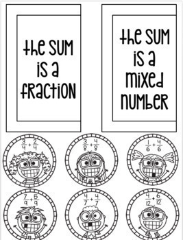 Adding and Subtracting Fractions - 4th Grade Math - Everything But the Dice