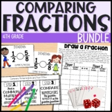 Comparing and Ordering Fractions - 4th Grade Math - Everything But the Dice