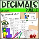 Everything But the Dice: Decimals - 4th Grade Math