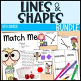 Everything But the Dice - Lines and Shapes - Grade 4 Geometry - 5 Day Unit