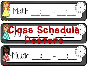 EDITABLE Everything Chalkboard Classroom Decor Pack