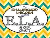 Everything ELA Anchor Charts (English & Español)