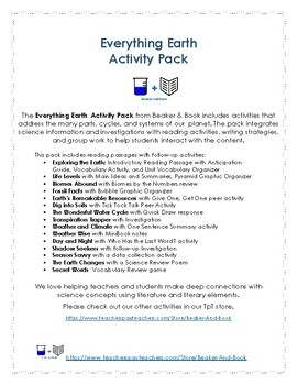 Everything Earth Activity Pack