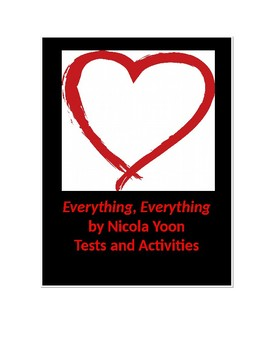 Everything, Everything by Nicola Yoon Tests and Activities
