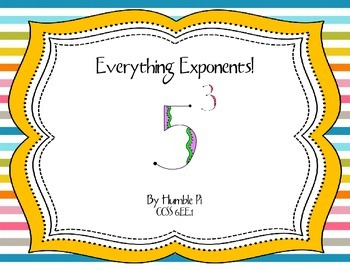 Everything Exponents 6.EE.1