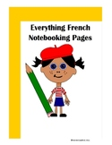 French Notebooking Pages