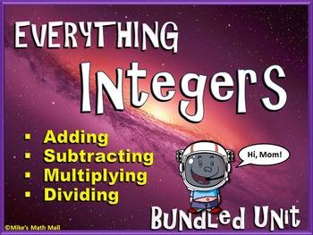 Everything Integers - Bundled Unit