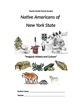 """""""Everything Iroquois!"""" Common Core ELA and 4th Grade Social Studies"""