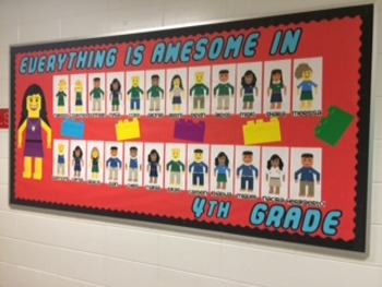 Back to School: Everything Is Awesome Bulletin Board 1st, 2nd, 3rd, 4th, 5th