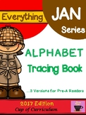 Alphabet Tracing Book: Color Versions