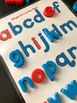 Everything JAN Series...Lowercase Magnetic Letter Template