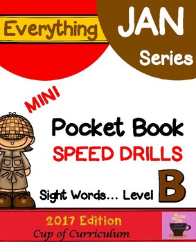 Pocket Book Speed Drills {Level B}