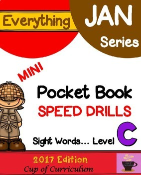 Pocket Book Speed Drills {Level C}