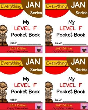 Everything JAN Series...Pocket Book Speed Drills {Level F}