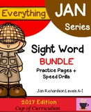 Everything JAN Series...Sight Word BUNDLE