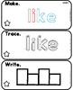 Everything JAN Series...Sight Word Mats Level A