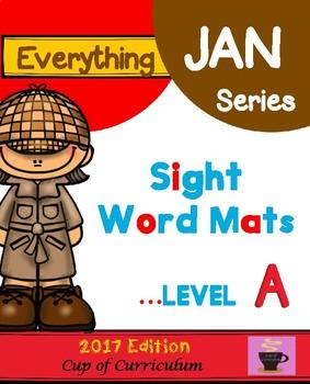 Sight Word Mats Level A