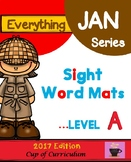 Sight Word Mats Level A