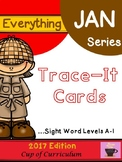 Trace It Cards {Levels A to I}