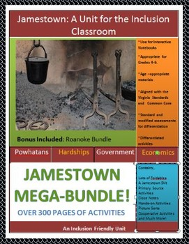 Jamestown Unit for the Inclusion Classroom