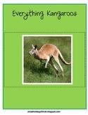 Everything Kangaroos - Math and Literacy Skills for k-3 & australia study