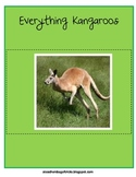Everything Kangaroos - Math and Literacy Skills for k-3 &