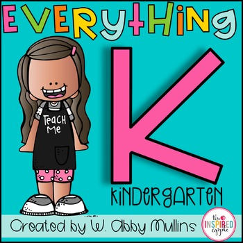 Everything Kindergarten Mega Bundle