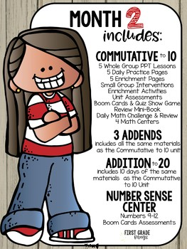 Everything LOLA 1st Grade Math Curriculum Membership PREVIEW
