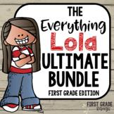 Everything LOLA 1st Grade Math Curriculum Membership PREVIEW