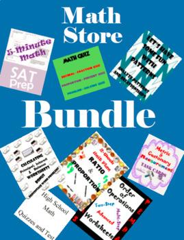 Math Store-Bundle