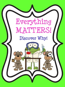 Everything Matters!  Discover Why!