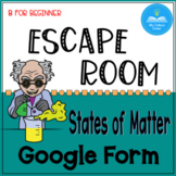 Everything Matters - Escape Room! - no prep!- Distance Learning