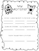 Everything Monsters! Adjectives,antonyms,descriptive writing,sorting,patterns!