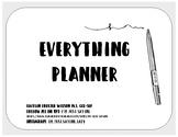 Everything Planner