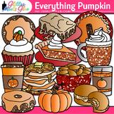 Everything Pumpkin Clip Art {Fall Graphics for Halloween a