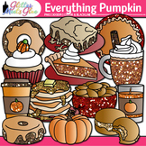 Everything Pumpkin Clip Art {Fall Graphics for Halloween a