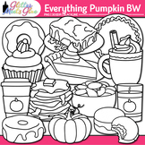 Everything Pumpkin Clip Art: Fall Graphics for Thanksgivin