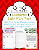 Everything Sight Words!  Stamping, Parent letters, and Awards