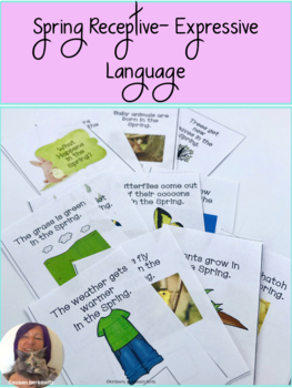 Spring Language  Everything for Special Education, Autism, Speech Therapy