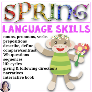 Spring Receptive and Expressive Language Activities