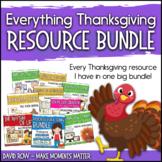 Everything Thanksgiving!  Music Resource Bundle - Variety Pack