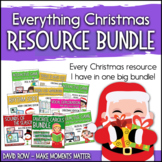 Everything Christmas!  Music Resource Bundle - Variety Pack