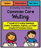 {Everything You Need} First Grade Common Core Writing